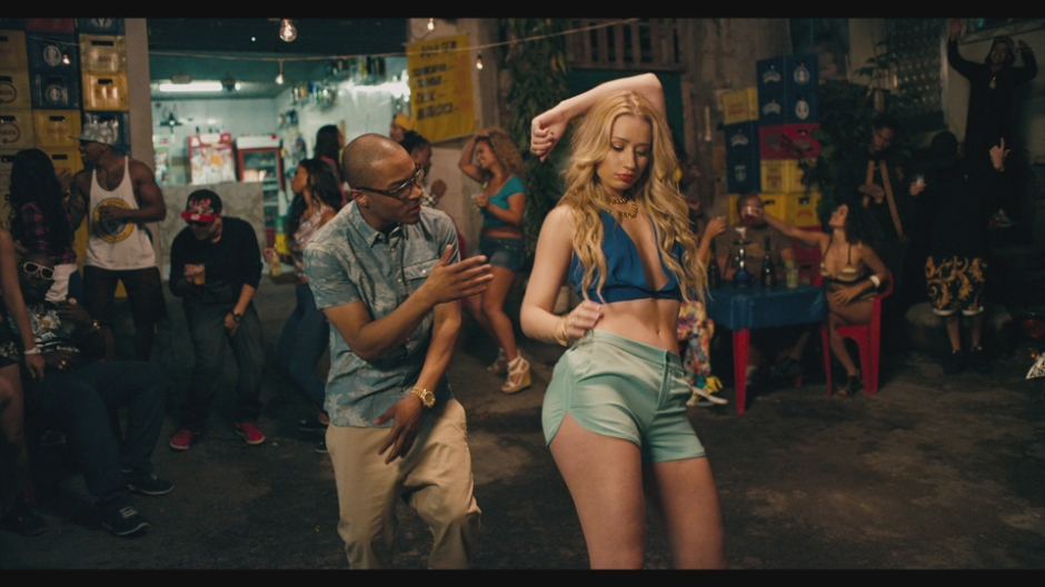 "T.I. and Iggy Azalea in ""No Mediocre"" Music Video"