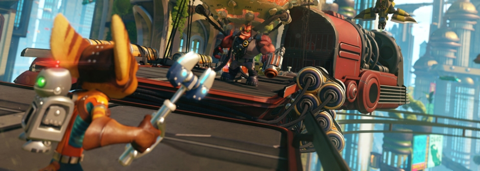 Image via Insomniac Games / Sony Computer Entertainment
